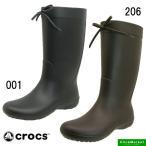 クロックス crocs freesail rain boot 203541-001 206 フリーセイル レイン ブーツ 長靴 レディース