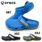 ショッピングCROCS クロックス crocs swiftwater deck clog 203981 スウィフトウォーター デッキ クロッグ サンダル 0A1 462 4D7 メンズ