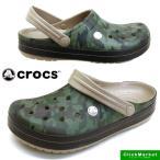 クロックス crocs crocband camo II clog 204091-2G9 tumbleweed クロッグバンド カモ クロッグ サンダル メンズ