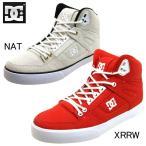 【アウトレット品・返品交換不可】ディーシー DC Shoes SPARTAN HIGH WC TX LE 171026 スパルタンハイ テキスタイル NAT XRRW メンズ