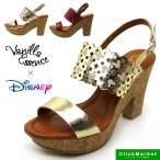 バニラエッセンス Vanilla Essence Disney ディズニー バックバンド サンダル 4197  EE レディース