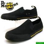 ドクターマーチン Dr.Martens TOOMEY 21949001 黒 トゥーミー キャンバス スリッポン メンズ