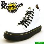 ドクターマーチン Dr.Martens MONET 21968100 白 モネ キャンバス ハイカットシューズ レディース