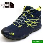 ショッピングトレッキングシューズ ノースフェース The North Face Hedgehog FP Lite Mid GORE−TEX NF01524 BG ヘッジホッグ ファストパック ライト ミッド ゴアテックス 登山靴 紺黄 メンズ