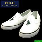 ショッピングスリッポン ポロ ラルフローレン POLO RALPH LAUREN SERENAII セレナ2 白緑 スリッポンスニーカー 10203