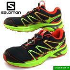 サロモン SALOMON WING FLYTE2 379165 黒赤緑 トレイル ランニング トレラン メンズ