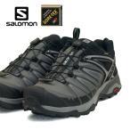 サロモン SALOMON X ULTRA 3 WIDE GTX 406596 3E 黒 幅広 ハイキング 登山靴 ゴアテックス 防水透湿 メンズ