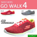 スケッチャーズ SKECHERS PERFORMANCE GO walk 4 14146 PKLM GRY ゴーウォーク スニーカー レディース