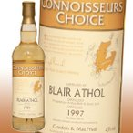 ゴードン&マクファイル ブレアアソール 1997 コニサーズ チョイス 43% 700ml