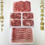 三代目本多特製 ふるさと肉セット 2.2kg 豚肉 ロース バラ こま切れ 送料無料 国産豚 焼肉