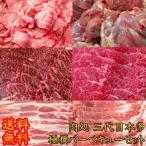 ショッピングバーベキュー 肉処 三代目本多こだわり極撰バーベキューセット 焼肉セット 送料無料 国産黒毛和牛 豚肉 牛肉 牛たん 鶏肉