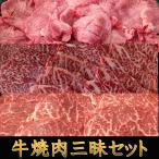 焼肉 牛焼肉三昧セット 送料無料 牛肉 アメリカ産牛タン 福島牛カルビ 福島牛 赤身もも キャンプ 肉