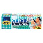 リード 冷凍も冷蔵も 新鮮保存バッグ M(20枚入)/ ライオン