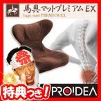 馬具マットプレミアムEX 日本製 馬の鞍の安定構造を再現 馬具座椅子 腰楽マット 馬具座イス 馬具クッション 腰サポート バグマットプレミアムEX