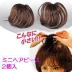 ミニヘアピース 人毛100% 部分かつら 2個組 ヘアピース 女性用カツラ 部分カツラ パーマ 毛染め ブロー ホットカーラー