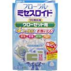 フローラルミセスロイド クローゼット用防虫剤 1年間有効 ホワイトアロマソープの香り 3個入