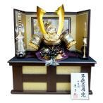 龍玉作30号彫金着用兜収納飾り  豪華特典付き五月人形