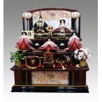 平安豊久作 桃香 三段飾り 85cmタイプ