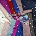 レシピあります kokochi fabric ソフトブロード エンブロイダリー 刺繍 エアータンブラー加工
