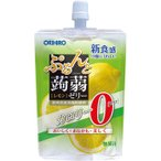 オリヒロプランデュ ぷるんと蒟蒻ゼリースタンディング 0kcal レモン 130g