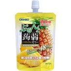 オリヒロ ぷるんと蒟蒻ゼリースタンディング パイナップル 130g