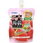 オリヒロプランデュ ぷるんと蒟蒻ゼリースタンディング イチゴ 130g