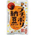 カンロ プチポリ 納豆スナック醤油味 20g