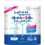 大王製紙 エリエール シャワートイレのためにつくった吸水力2倍のトイレットペーパー 無香料 18ロール ダブル 112カット
