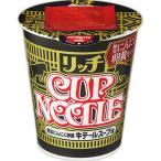 日清食品 カップヌードル リッチ 無臭にんにく卵黄牛テールスープ味 67g