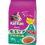 マ-スジヤパンリミテッド カルカン ドライ 成猫用 毛玉ケア かつおとチキン味 1.6kg