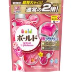 P&Gジャパン ボールド ジェルボールWプラチナ プラチナブロッサム&ピオニーの香り(つめかえ用) 特大サイズ 705g(36個)