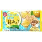 マツモトキヨシ Yahoo!店で買える「アサヒグループ食品株式会社 クリーム玄米ブラン 塩レモン 2枚X2袋」の画像です。価格は112円になります。