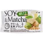 アサヒグループ食品株式会社 バランスアップ クリーム玄米ブラン 豆乳抹茶 2枚X2袋