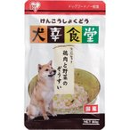 アイリスオーヤマ 犬用レトルト 犬幸食堂 鶏肉と野菜のぞうすい 80g