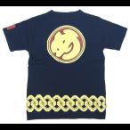 和柄半袖Tシャツ め組(紺)