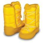 CROCS クロックス KOSMO BOOT KIDS (Yellow/Canary) ジュニア キッズ 子供 冬用 スノーブーツ11440