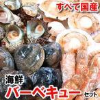 (送料無料)国産4種の海鮮バーベ