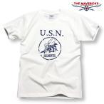 極厚!スーパーヘビーウェイト生地Tシャツ!米海軍「SeaBees」モデル/ホワイト