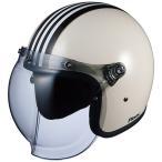 ヘルメット OGK ROCK G1 ホワイトブラック 白黒 フリーサイズ FREE ジェットヘル オージーケー ロック