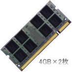 LaVie G タイプL GL24SR/GL24SS/GL24SVでの動作保証4GBメモリ2枚組