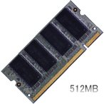 dynabook Satellite J10での動作保証512MBメモリ