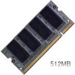 dynabook Satellite J32/J40での動作保証512MBメモリ