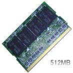 レッツノートLet's note(LIGHT)T2での動作保証512MBメモリ