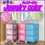 衣装ケース 収納ボックス 収納ケース 引き出し プラスチック 押入れ 衣類 カラーボックス 3段 チェスト オールクリア キャスター付 日本製
