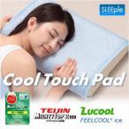 ひんやり枕パッド 2枚組 まくらカバー 冷却 接触冷感 防臭 抗菌 防ダニ SLEEple/スリープル