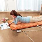 【冬物処分】あったか ごろ寝マット ごろ寝長座布団 電気マット 一人用 ホットマット 電気毛布 電気敷き毛布 送料無料