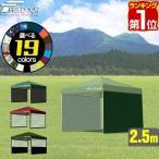 テント タープ タープテント サイドシート 横幕 2.5m 250 2枚組 タープテント専用サイドシート 2枚 2面 FIELDOOR 送料無料