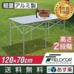 折りたたみテーブル ピクニックテーブル アウトドアテーブル レジャーテーブル 折りたたみ ピクニック テーブル キャンプ おしゃれ テーブル FIELDOOR 送料無料