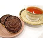 【ガレットブルトンヌショコラ(1個入り)】バターたっぷりのサクサク食感のガレット(厚焼きクッキー)、上質なビターチョコレートとココアを使用