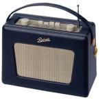 Roberts Radio ロバーツラジオ R550 レザークロス ブルー(ヴィンテージ ホワイトパネルモデル)